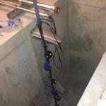 電気工作ドットコム・釜場の中のフロート工事